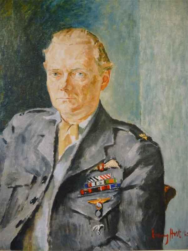 Wing Commander Paddy Barthropp DFC, AFC, RAF (Ret'd) X008-2793 by Tony Holt