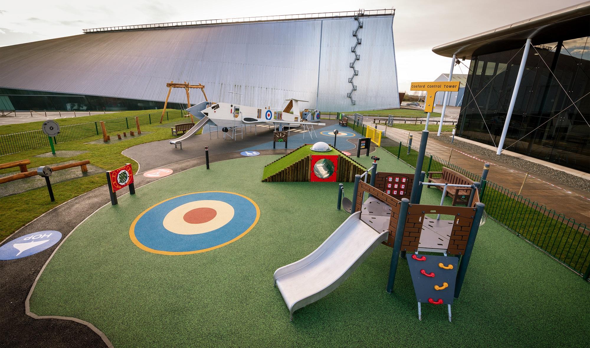 RAF themed playground