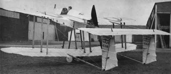 AD Scout with Union Jack marking