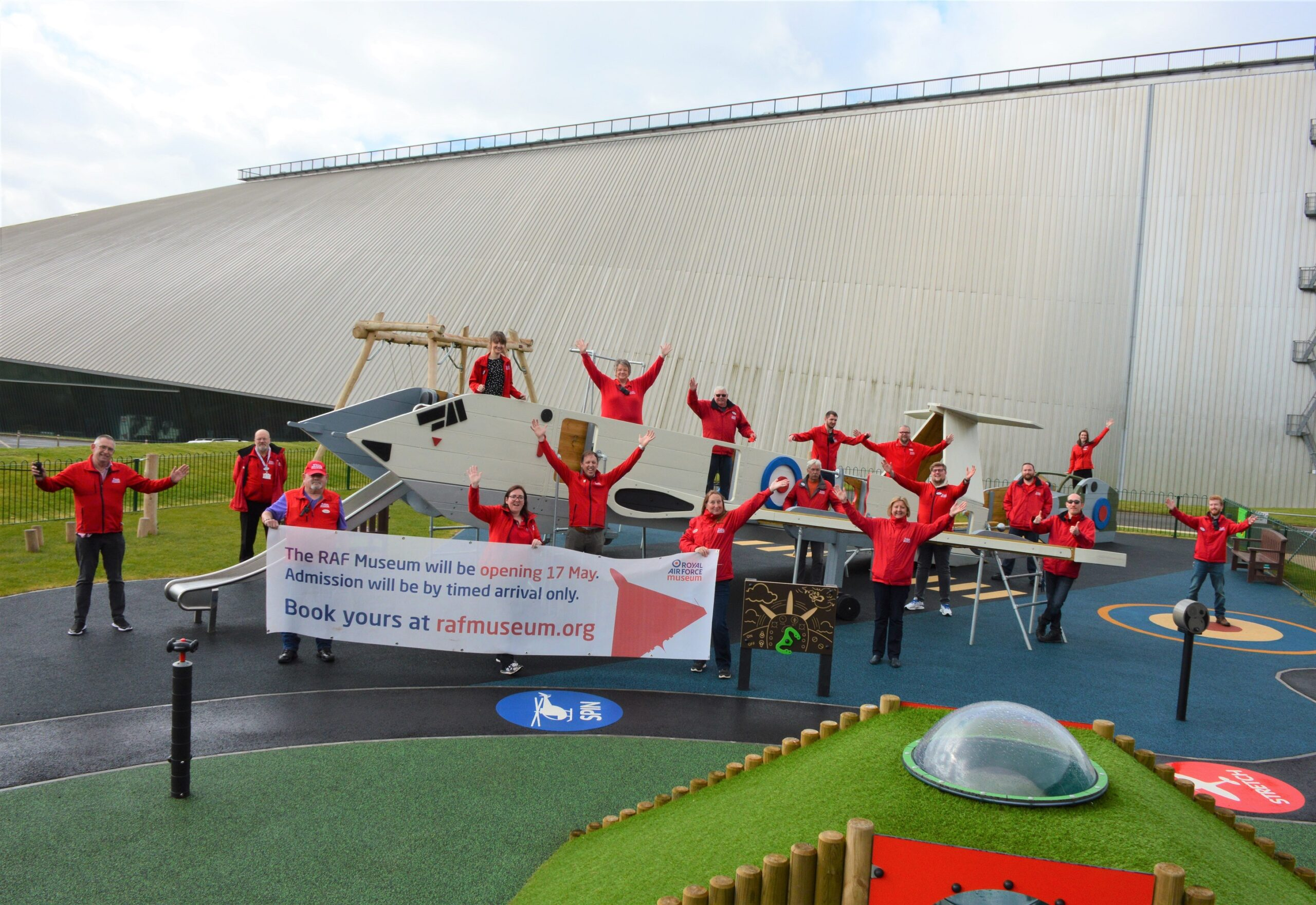 RAF Museum Cosford Reopening