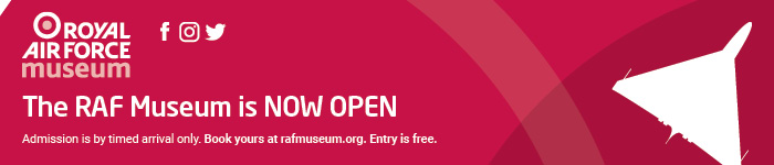 The RAF Museum is now open