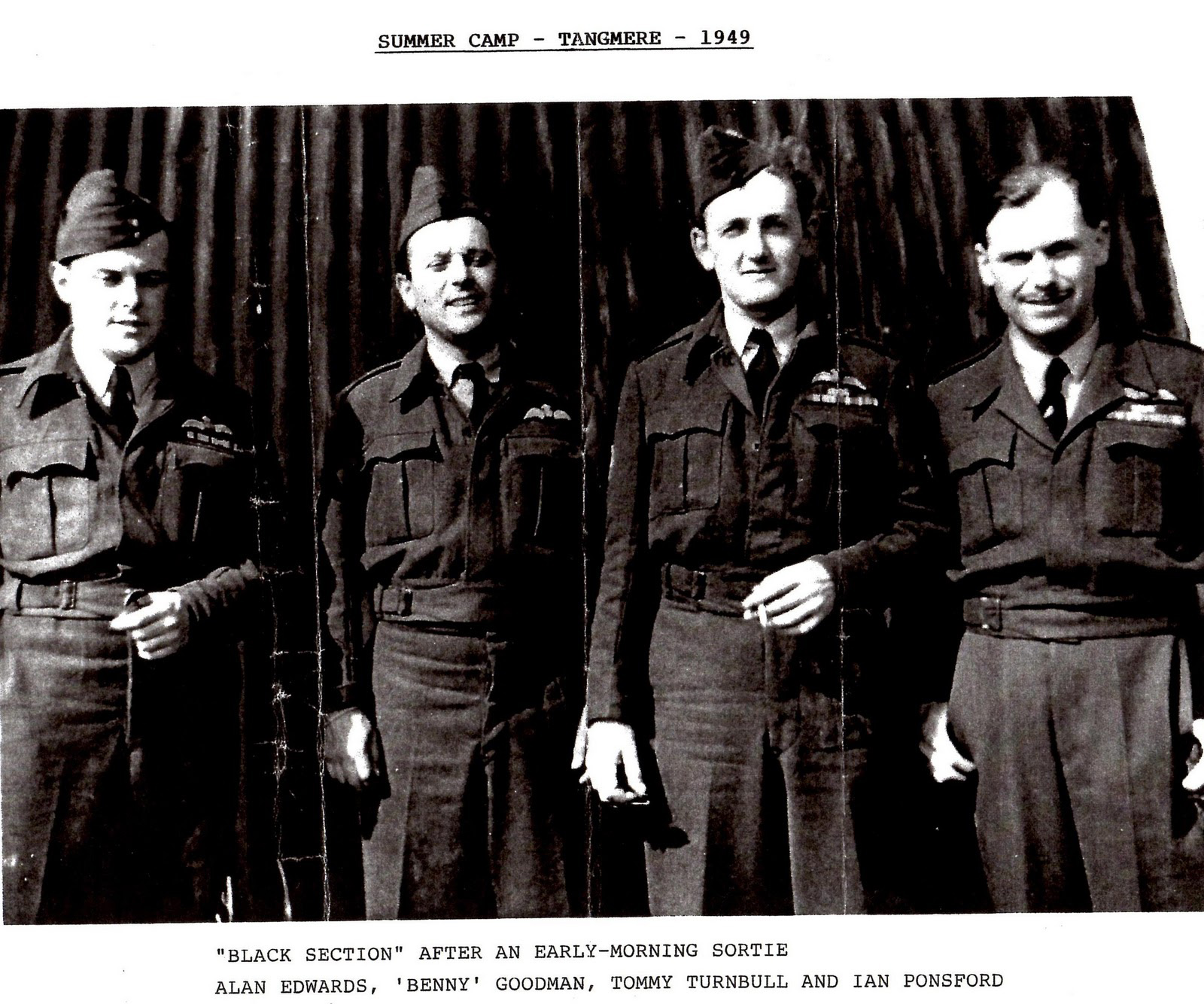 Benny Goodman with his crew