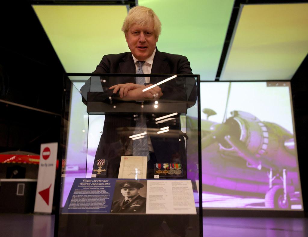 The Prime Minister Boris Johnson
