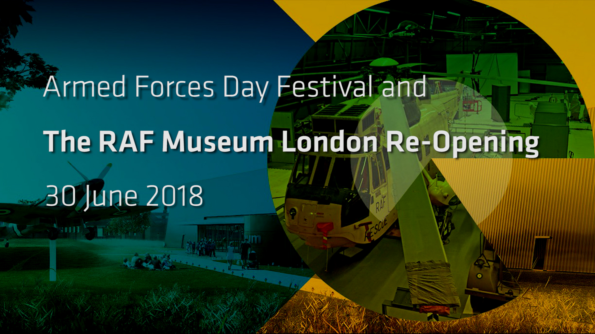 Armed Forces Day Festival and the Grand Re-Opening of the RAF Museum London