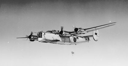 Consolidated Liberator of Coastal Command, circa 1943 (P011963)