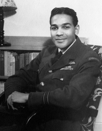 Flight Lieutenant David Errol Chance, circa 1945