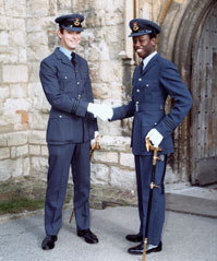 Flight Lieutenant David Case and Flight Lieutenant Peter Dye, November 1981 (Courtesy of Peter Dye)