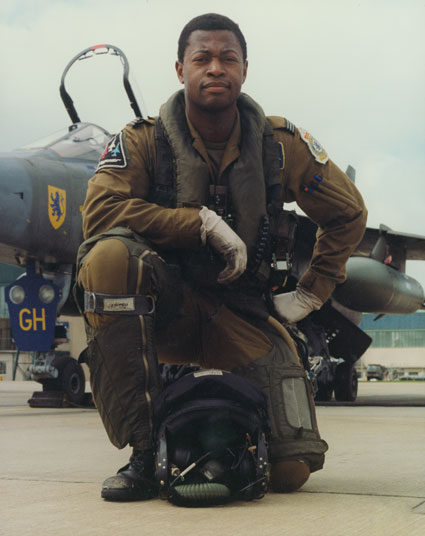 Flight Lieutenant Trevor Edwards