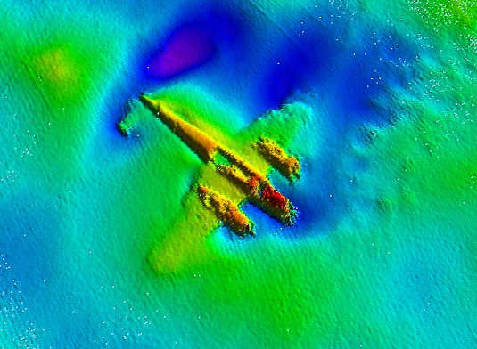 Rescue of last WWII Dornier Do 17 bomber from the sea begins