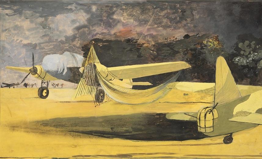 Graham Sutherland Camouflaged Bombers, 1940.