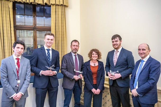 Winners of the RAF Museum's 2019 Academic Awards