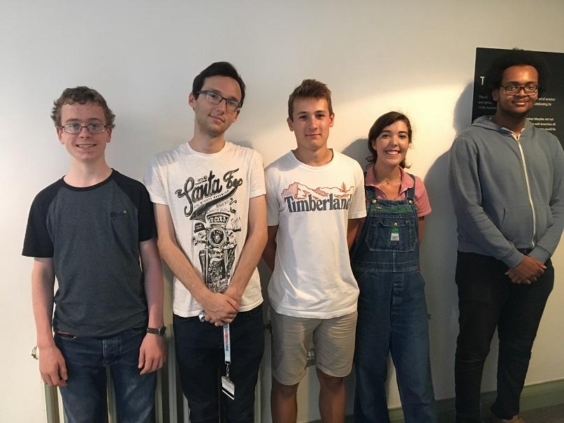 RAF Museum Youth Panel members