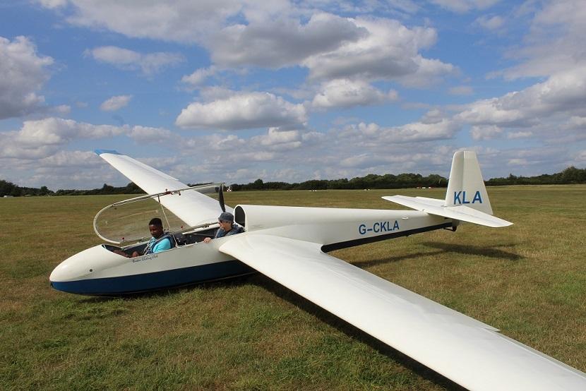 glider aeroplane