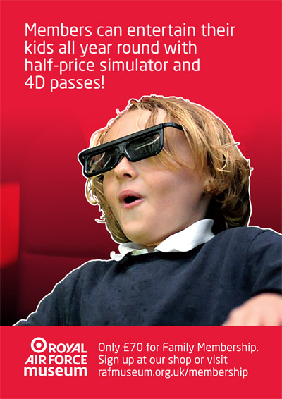 Members can entertain their Kids all year round with half price simulators and 4D theatre passes!