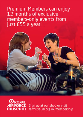 Premium Members can enjoy 12 months of exclusive members-only events from just £55 a year!