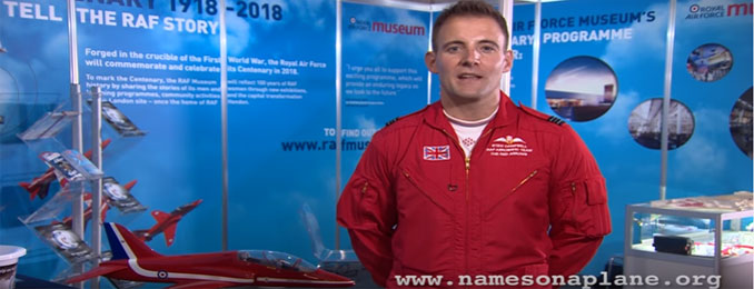 An Appeal for the Museum by the Red Arrows