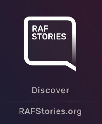 RAF Stories Logo