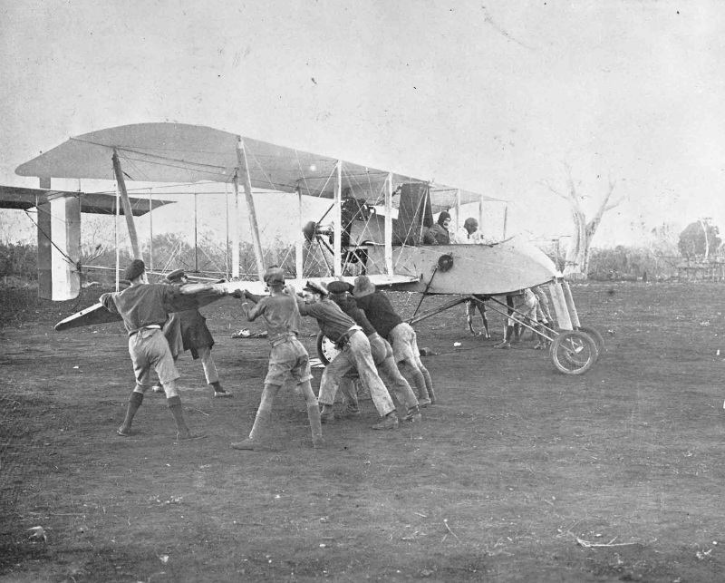Voisin LAS of No. 8 Squadron RNAS in East Africa.