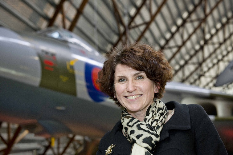 Maggie Appleton, CEO of the Royal Air Force Museum