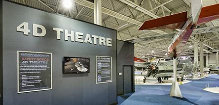 4D Theatre at RAF Museum London