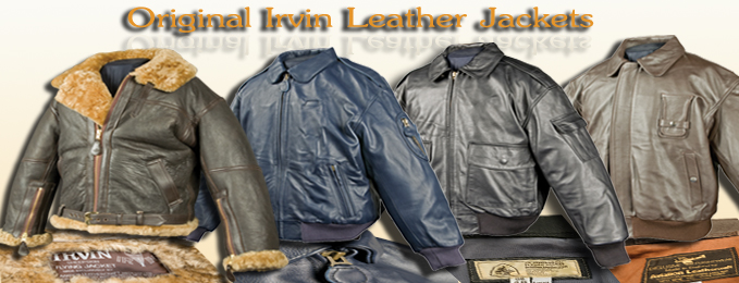 Original Irvin Flying Jackets