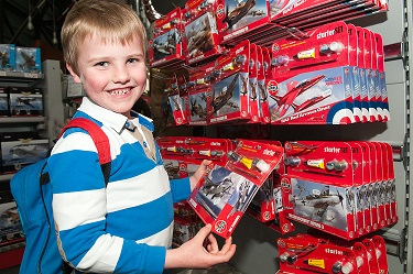 Browse the Airfix kits in the Museum Shop