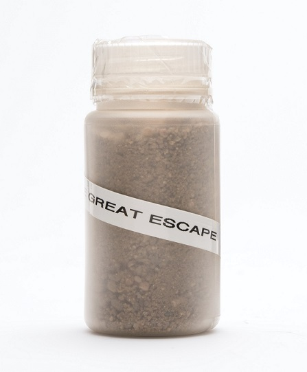 Sand from Stalag Luft III Parade Ground, The Great Escape