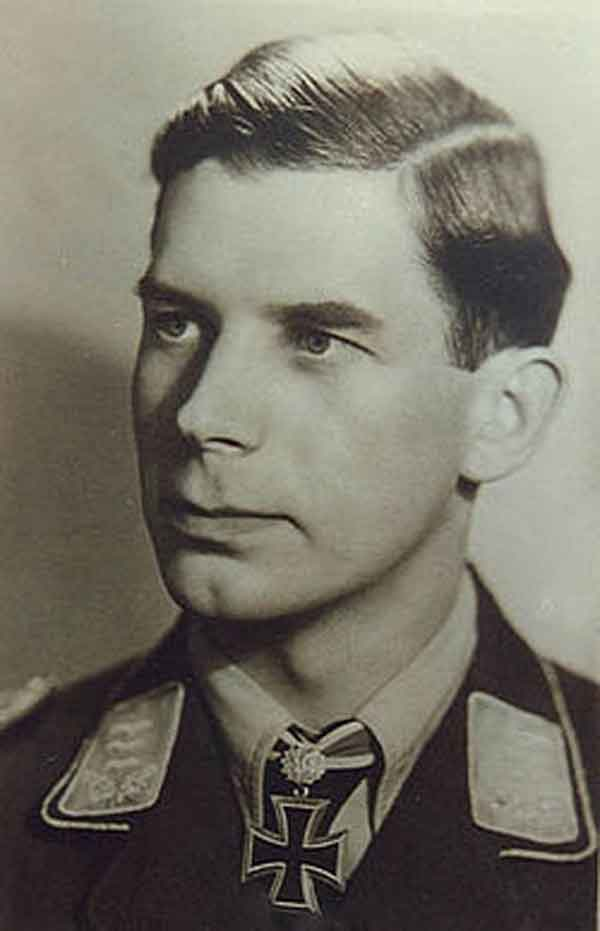 Luftwaffe night-fighter ace Oblt Heinz Rökker brought down Werewolf and her crew. This was the twentieth of his 64 victories.