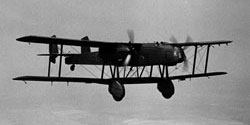 Heyford K4024, No.10 Squadron, July 1935