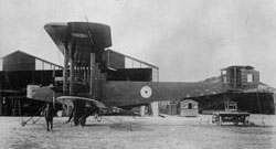 Handley Page 0/400, side view, 1917-1918