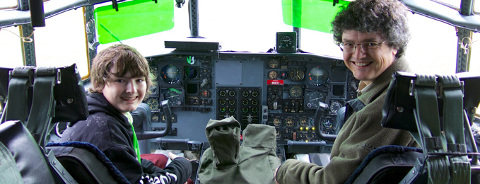 Open Cockpit Events at Cosford