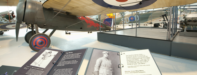 First World War in the Air exhibition