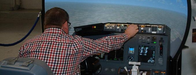 Flight Sim at Cosford