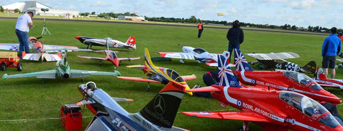 Large Model Aircraft Rally 16 - 17 July 2016