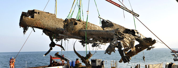 Salvaging the Dornier Do 17 - Two Years On