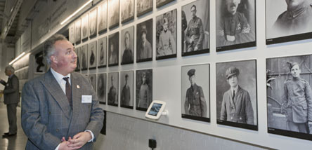 Visit the Wall of 100 Faces in First World War in the Air
