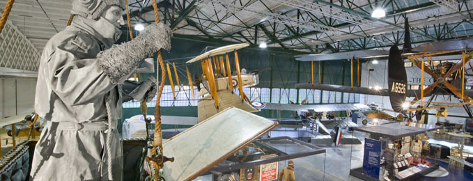 Our First World War in the Air exhibition