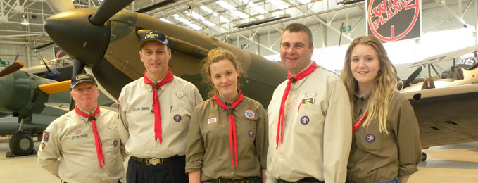 Aviation Badges for Scouts, Cubs & Beavers