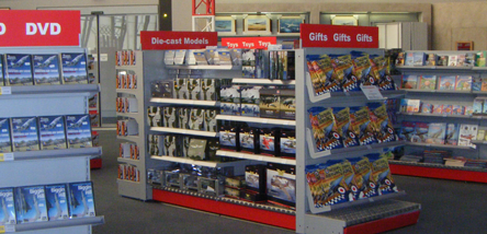 A huge choice of gifts and souvenirs