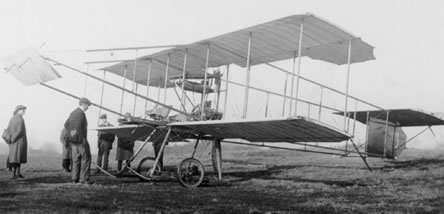 An early aircraft from deHavilland