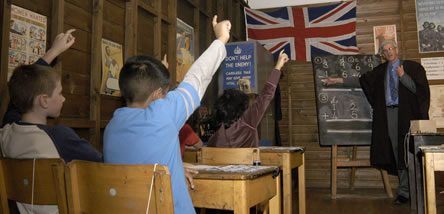 If you would like to book our wartime classroom experience please call 020 8358 4896