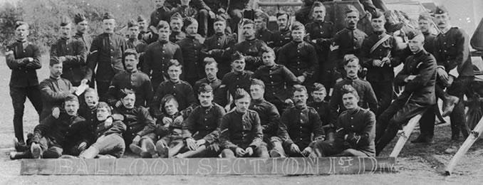 Balloon Section of the Royal Engineers, circa