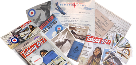 Facsimile packs of the RAF at War during World War 2
