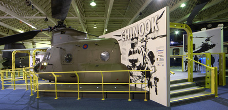 Visit 'Big Windy' - our Chinook display in Historic Hangars.