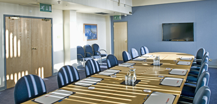 The Boardroom at the Royal Air Force Museum London.