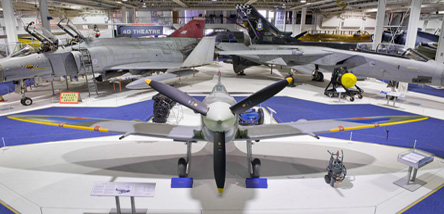 Just some of the aircraft that you can see in our Historic Hangars