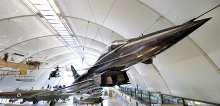 The DA2 Typhoon Eurofighter in our Milestones of Flight Gallery