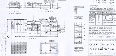 An example of one of the building drawings in our collection.