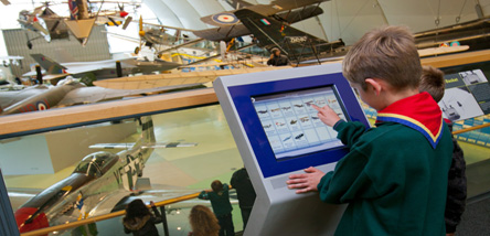 Scouts in our Milestones of Flight Gallery