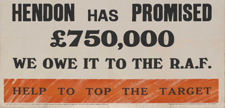 Second World War Appeal Poster